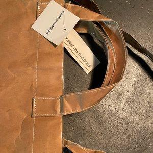 NEW CDG PVC shopper tote bag